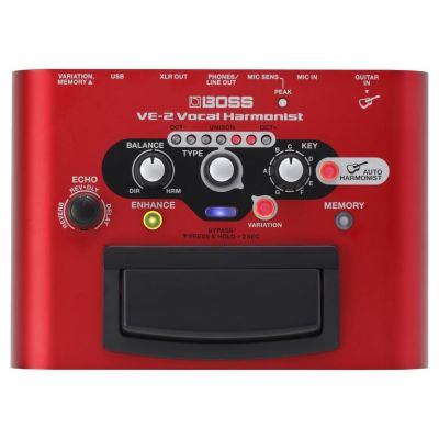 Boss VE2 Vocal Harmonist Pedal