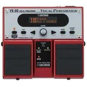 BOSS VE20 Vocal Processor Pedal