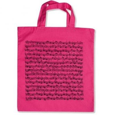 Tote Bag - Sheet Music (Pink)