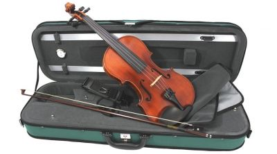 Westbury Violin 3/4 Size, Silver Set Up