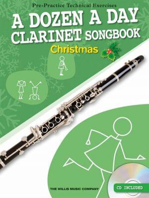 A Dozen A Day Clarinet Songbook - Christmas