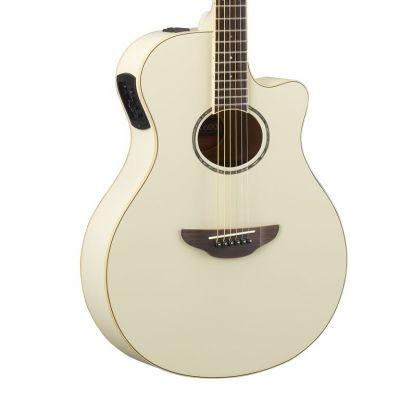 Yamaha APX600 Vintage White Electro Acoustic Guitar