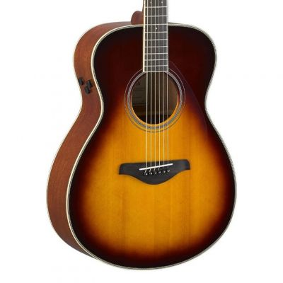 Yamaha FS-TA Brown Sunburst Folk Guitar