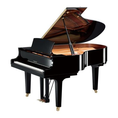 Yamaha C3XPE Grand Piano, Polished Ebony