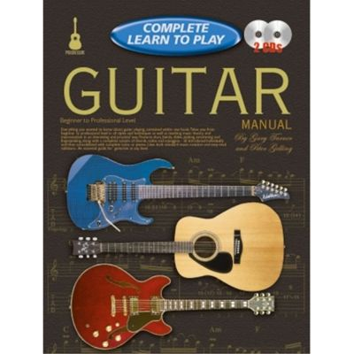 Complete Learn To Play Guitar Manual + CDs