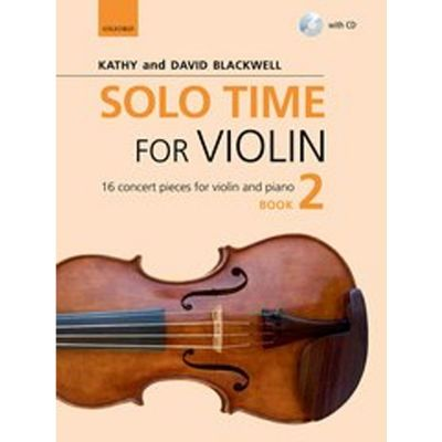 Solo Time for Violin 2 (Book and CD)