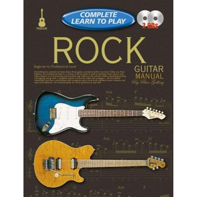 Complete Learn To Play Rock Guitar Manual + Cds