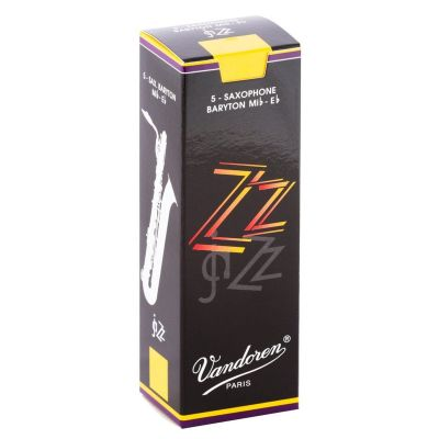 Vandoren jaZZ Baritone Sax Reeds 2.5 (Box of 5).