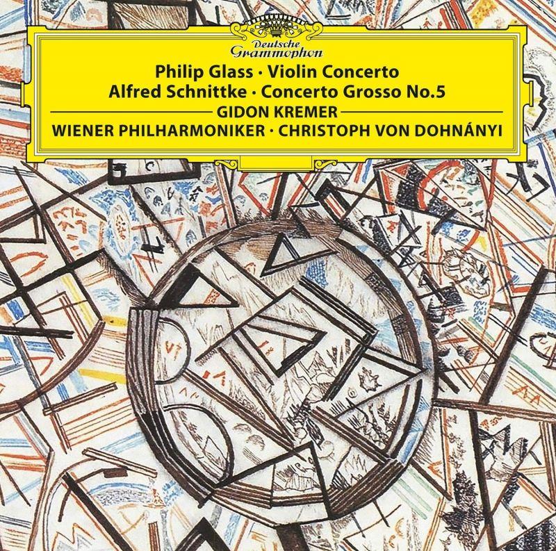GIDON KREMER - GLASS/SCHNITTKE/VIOLIN CONCERTO