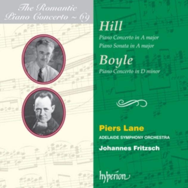 LANE/ADELAIDE SYMPH/FRITZSCH - ROMANTIC PIANO CONCERTO 69 - CD