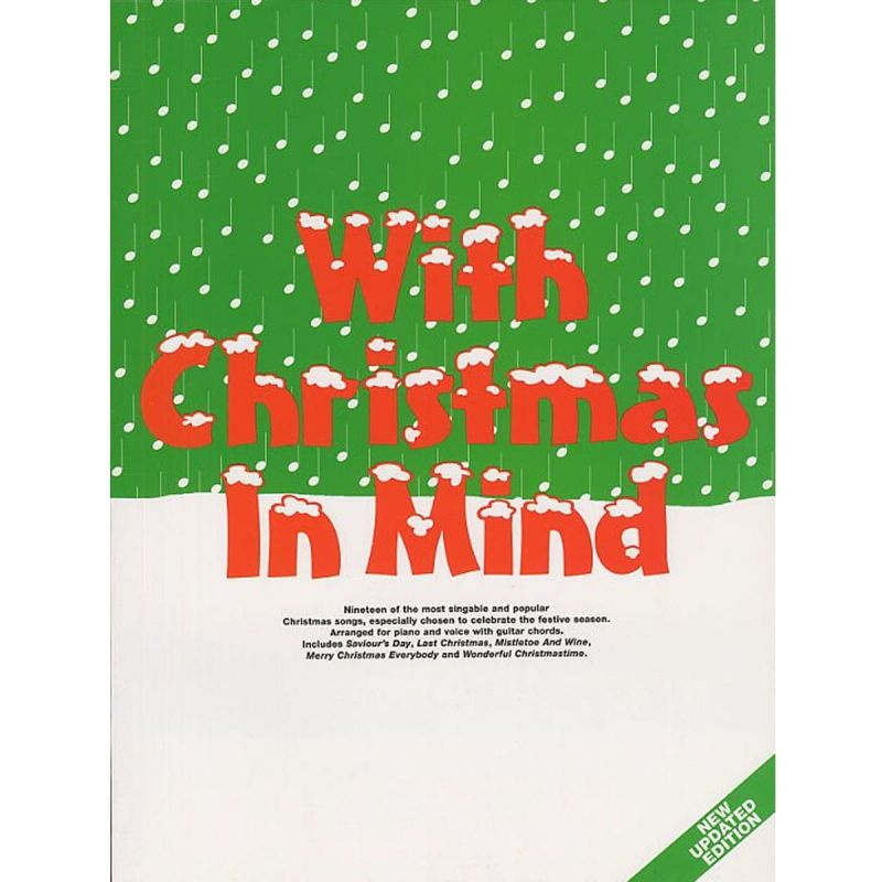With Christmas In Mind (Piano/Vocal/Guitar)