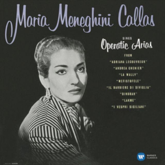 MARIA CALLAS - SINGS OPERATIC ARIAS