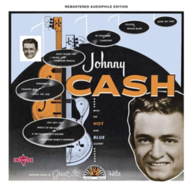 JOHNNY CASH - WITH HIS HOT & BLUE GUITAR - CD