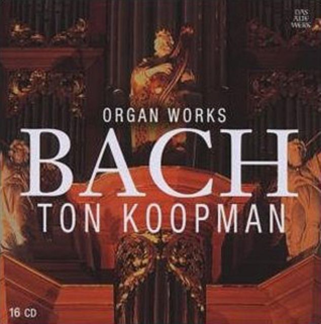 TONKOOPMAN - ORGAN WORKS BACH