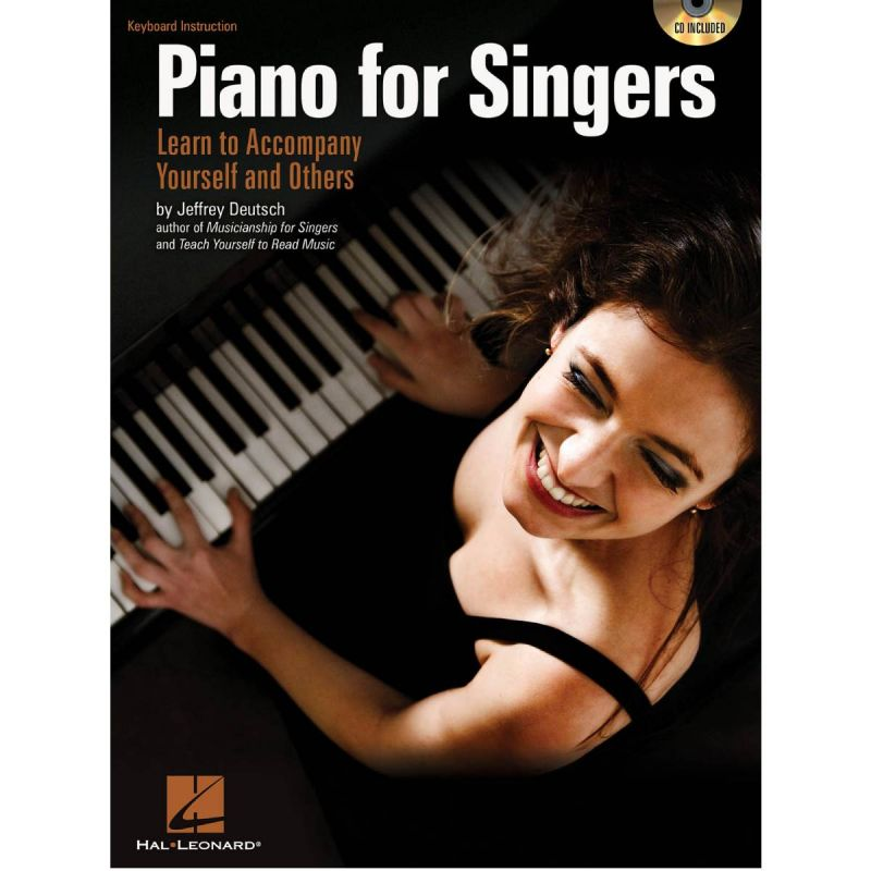 Jeffrey Deutsch Piano For Singers - Learn To Accompany Yourself And Others