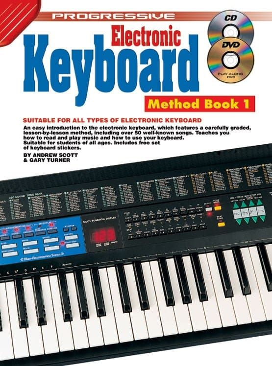 G.Turner - Progressive Keyboard Method 1 Book and CD + Free DVD
