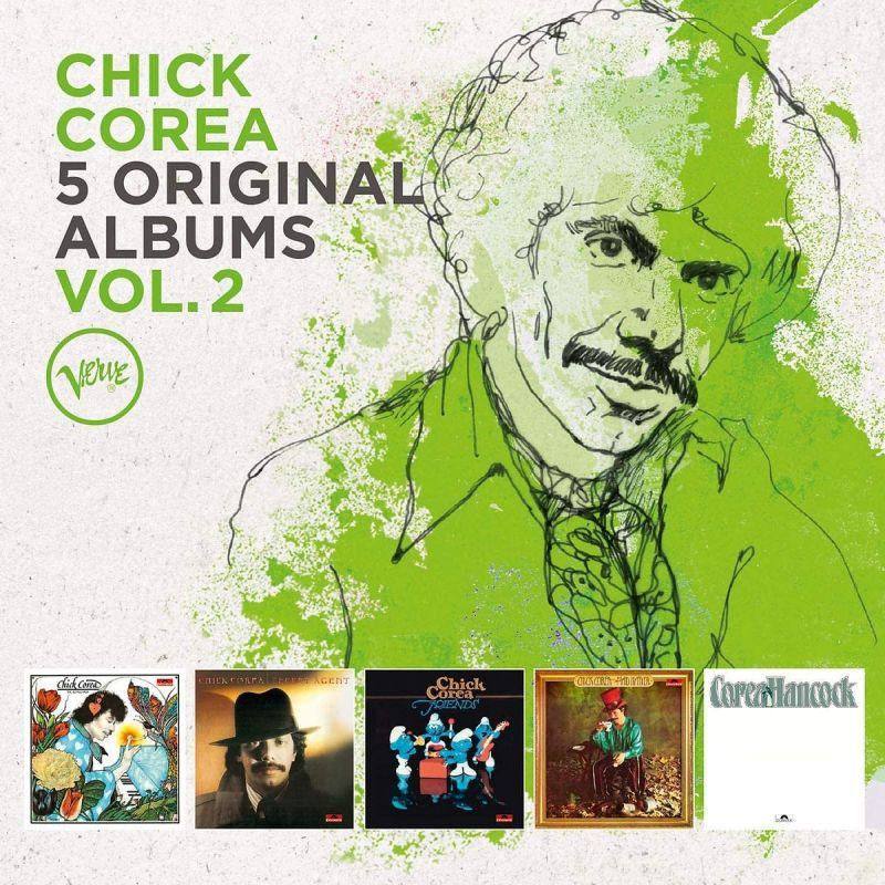CHICK COREA - 5 ORIGINAL ALBUMS - 5CD SET
