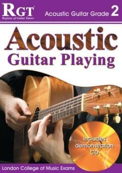 RGT Acoustic Guitar Playing Grade 2 Book + CD (LCM)