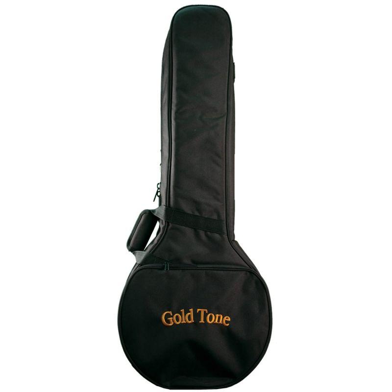 Gold Tone Little Gem Concert Banjo-ukulele, with bag, amethyst