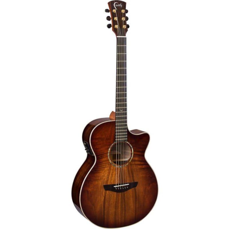Faith Venus Blood Moon Burst Acoustic Guitar
