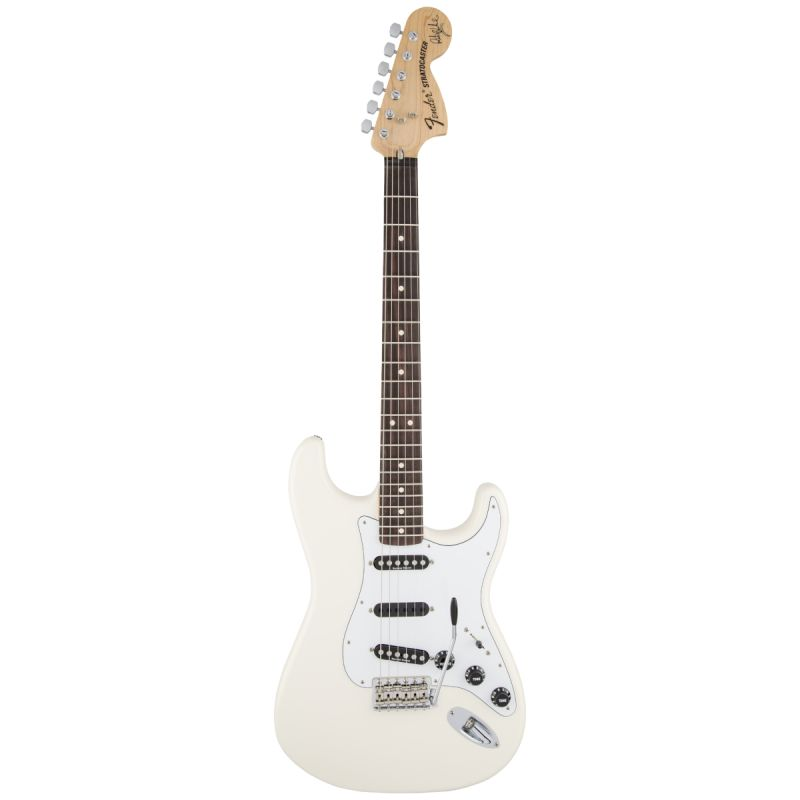 Fender Artist Series Ritchie Blackmore Strat Olympic White (0139010305)