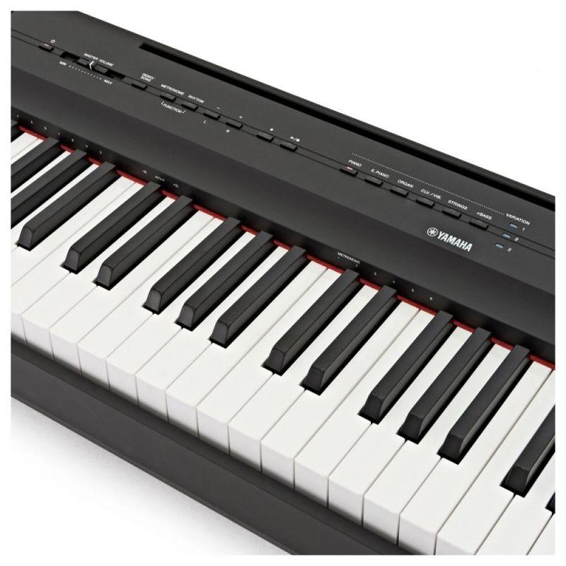 Yamaha P125B Portable Piano, Black