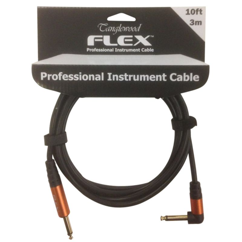 Tanglewood FX3 Angled Professional Instrument Cable 3m-10ft