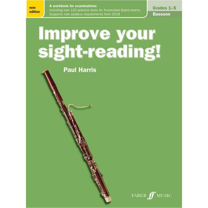 Improve your sight-reading! Bassoon Gr. 1-5