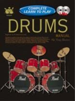Complete Learn To Play Drums Manual + Cds