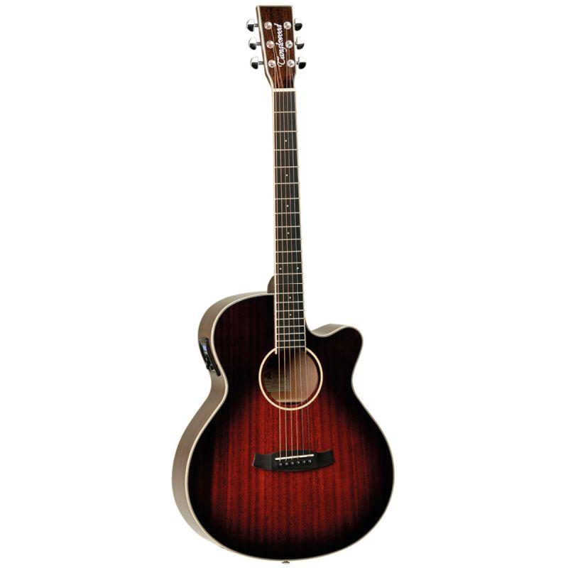 Tanglewood TW4E Super Folk Electro Acoustic Antique Violin Burst