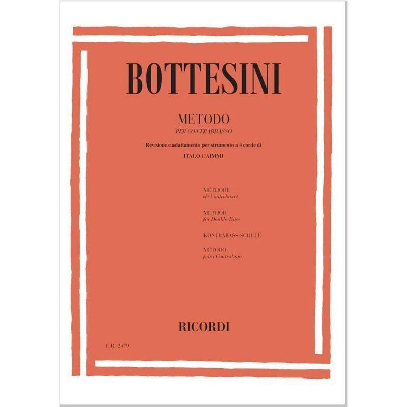Bottesini G. - Metodo Double Bass solo (57930)