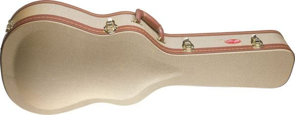 Stagg Vintage Classic Guitar Case Gold Tweed