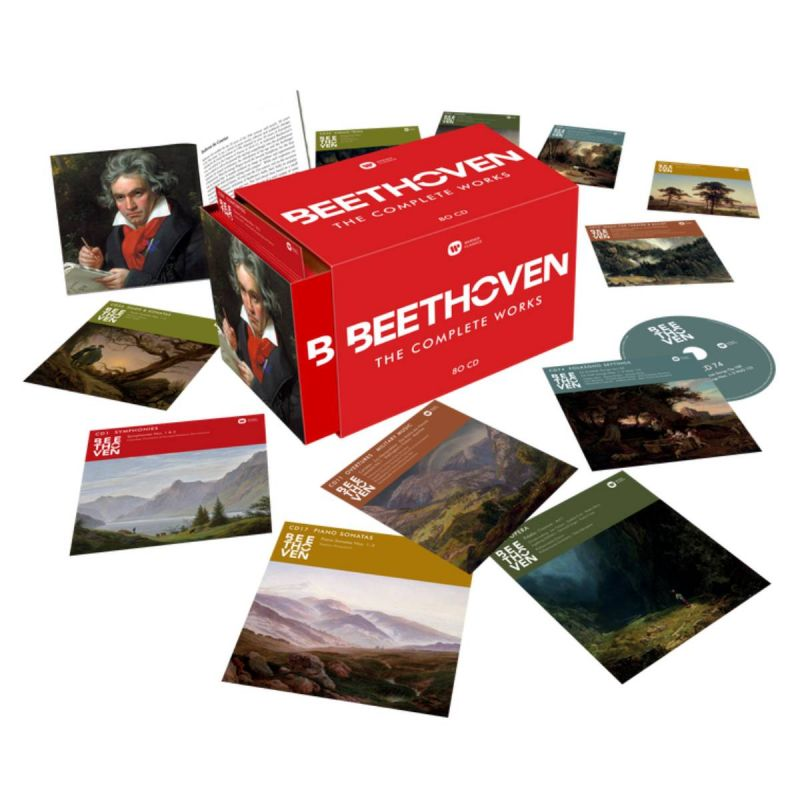 VARIOUS ARTISTS - BEETHOVEN/THE COMPLETE WORKS