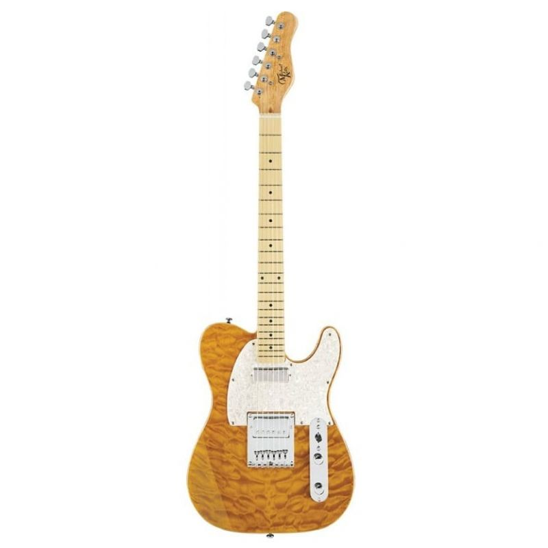 Michael Kelly 1955 Electric Guitar - Amber Trans