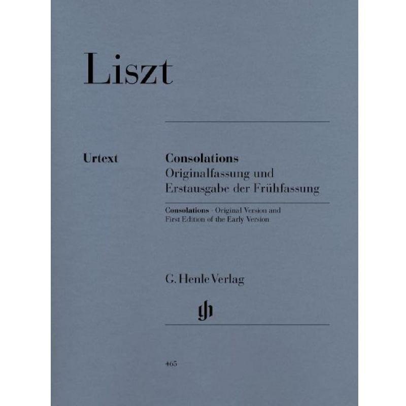 Liszt, Franz - Consolations