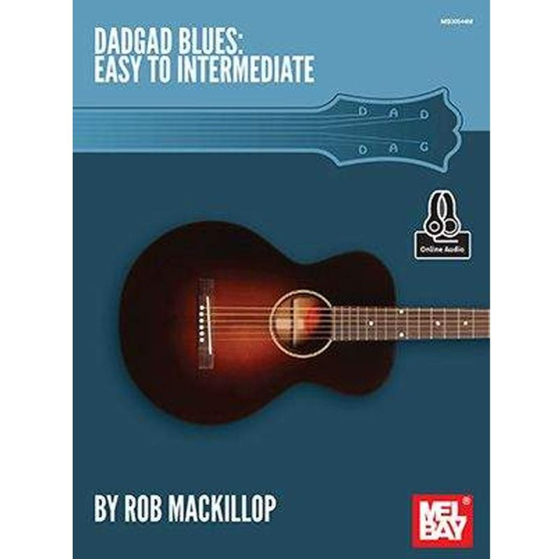 Rob Mackillop - DADGAD Blues (Book with Online Audio)