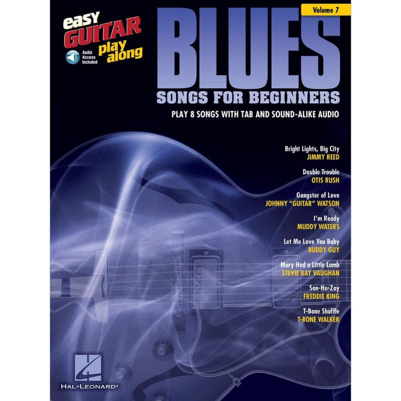Easy Guitar Play-Along Vol 7: Blues Songs for Beginners