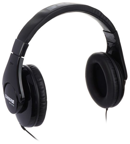 Shure SRH240 Professional Quality Headphones Black