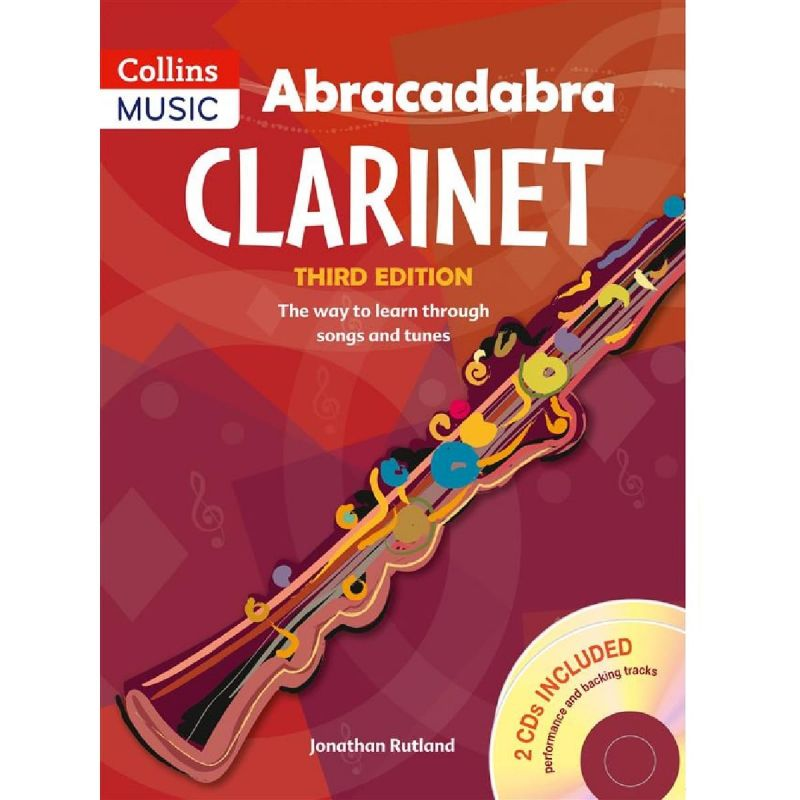 Abracadabra Clarinet (Pupil's book and 2CDs)