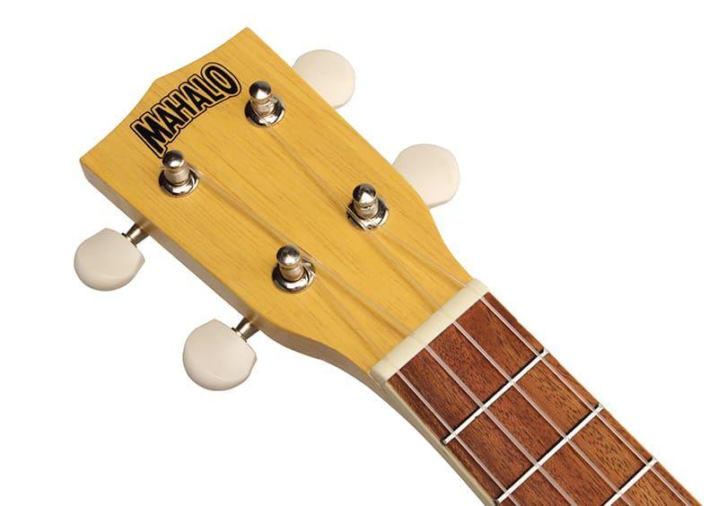 Mahalo Ukulele Kahiko MK1 Transparent Butterscotch Blonde