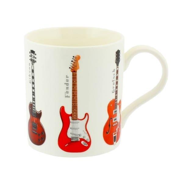 Fine China Mug - Guitars (Boxed)