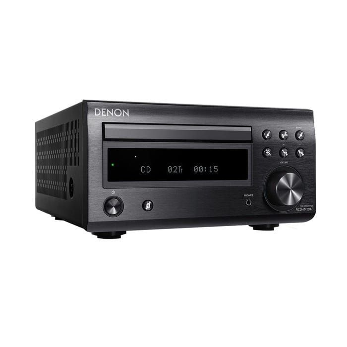 Denon RCDM41DAB Micro HiFi CD Receiver with Tuner and Bluetooth, Black