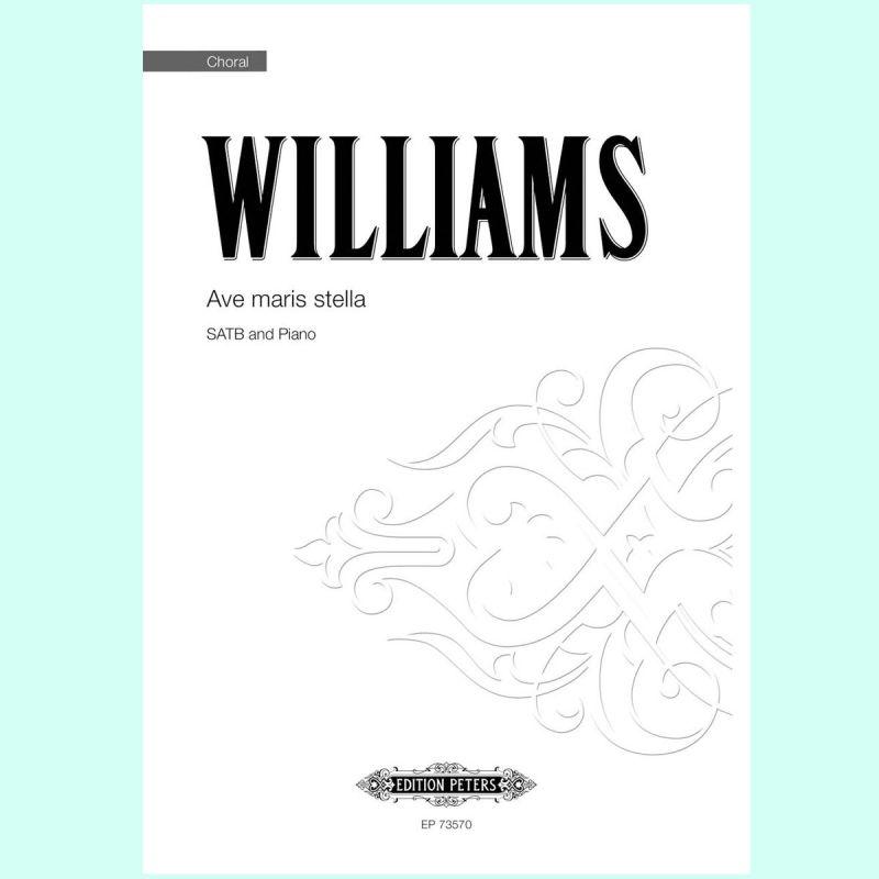 Williams - Ave maris stella SATB