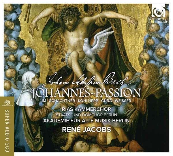 AKAMUS/RENE JACOBS - BACH/ST JOHN PASSION - CD