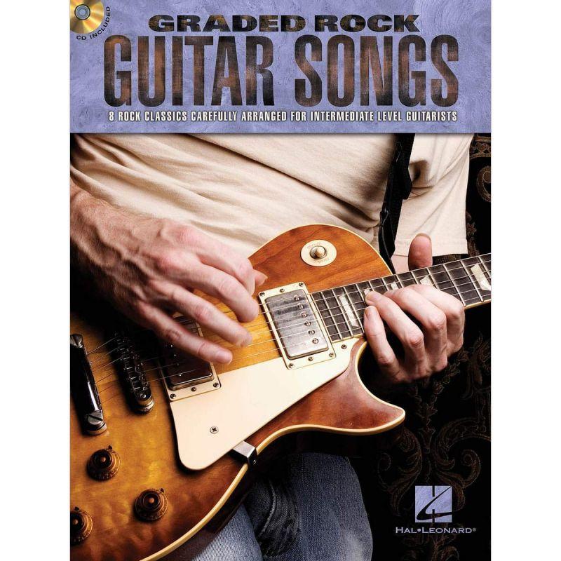 Graded Rock Guitar Songs (Book CD)