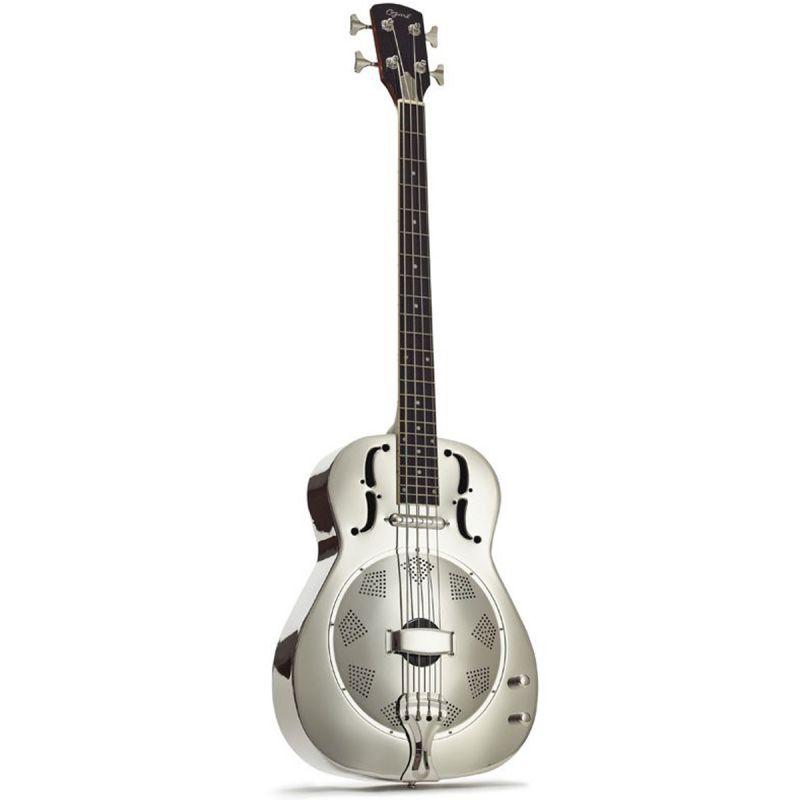 Ozark 3516 Resonator Guitar, Nickel Plate, Electro