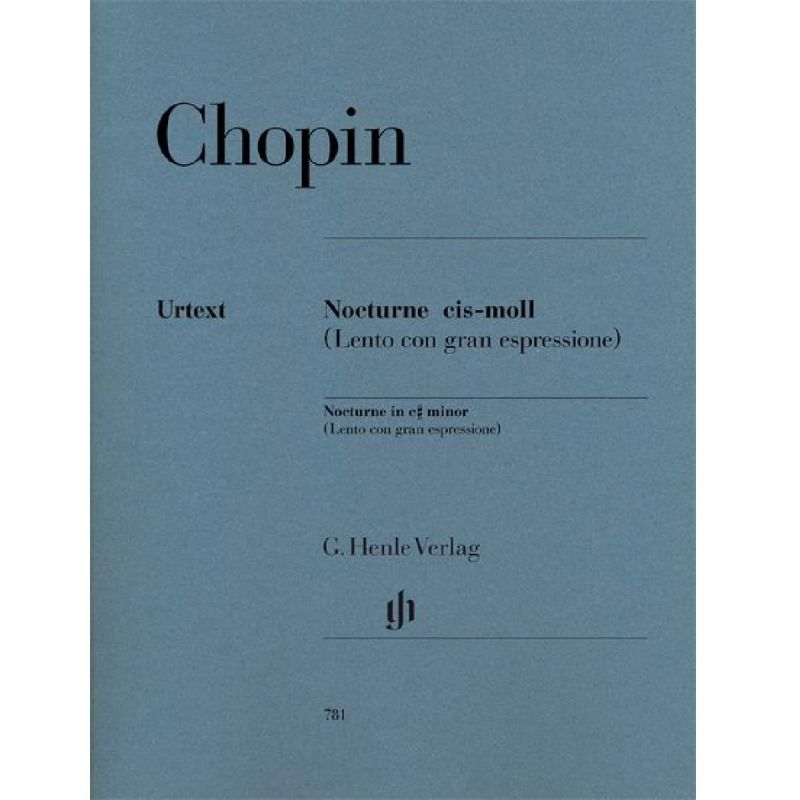 Chopin, Frederic - Frederic Chopin Nocturne In C Sharp Minor Op Post