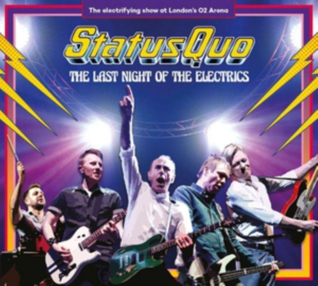 STATUS QUO - THE LAST NIGHT OF THE ELECTRICS - BOX SET