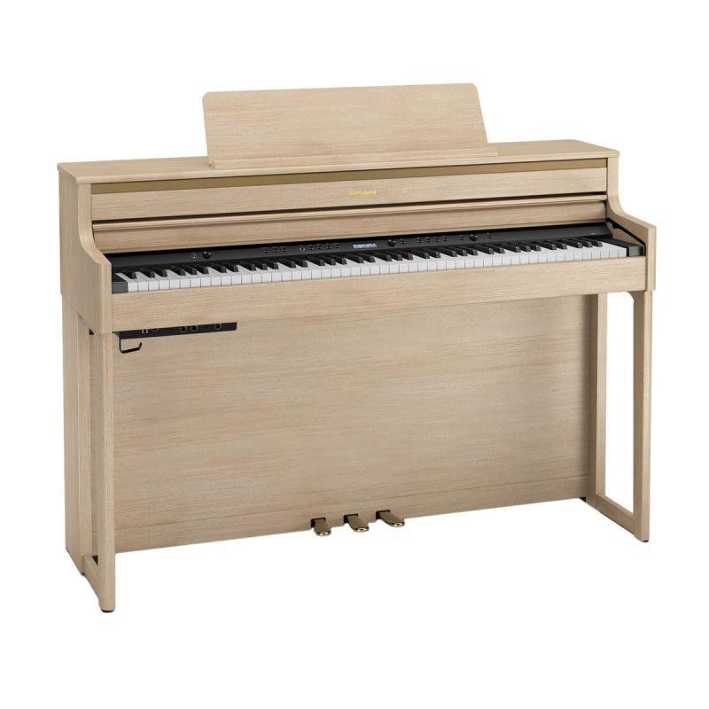 Roland HP704 Premium Concert Class Piano, Light Oak