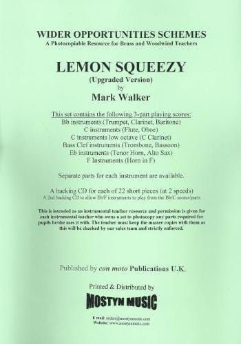 Lemon Squeezy for Wider Opps (Upgraded Version) Parts + Score